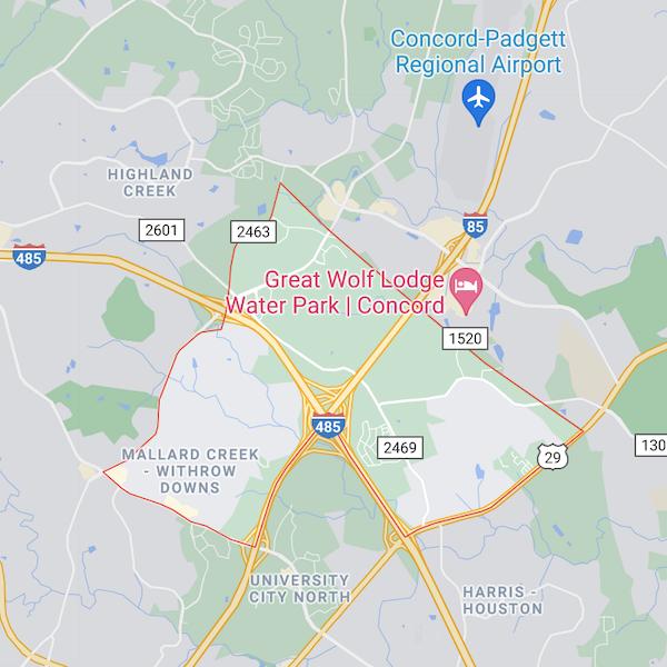 mallard creek and withdraw downs neighborhoods in charlotte north carolina